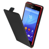 Mobiparts Premium Flip Case Sony Xperia M4 Aqua Black