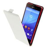 Mobiparts Premium Flip Case Sony Xperia M4 Aqua White