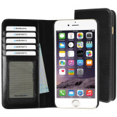 Mobiparts Excellent Wallet Case Apple iPhone 6 Plus/6S Plus Jade Black
