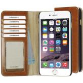 Mobiparts Excellent Wallet Case Apple iPhone 6 Plus/6S Plus Oaked Cognac