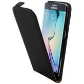 Mobiparts Premium Flip Case Samsung Galaxy S6 Edge Black