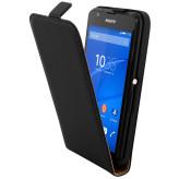 Mobiparts Premium Flip Case Sony Xperia E4G Black