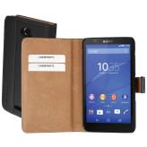 Mobiparts Premium Wallet Case Sony Xperia E4 Black