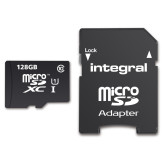 Integral MicroSD 128GB + Adapter (80MB/s Class 10)