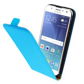 Mobiparts Premium Flip Case Samsung Galaxy J5 Light Blue