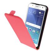 Mobiparts Premium Flip Case Samsung Galaxy J5 Peach Pink