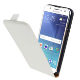 Mobiparts Premium Flip Case Samsung Galaxy J5 White