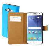 Mobiparts Premium Wallet Case Samsung Galaxy J5 Light Blue