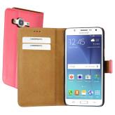 Mobiparts Premium Wallet Case Samsung Galaxy J5 Peach Pink