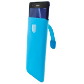 Mobiparts Premium Pouch Size 5XL Light Blue