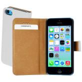 Mobiparts Premium Wallet Case Apple iPhone 5C White