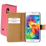 Mobiparts Premium Wallet Case Samsung Galaxy S5 Mini Peach Pink