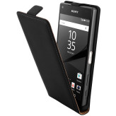 Mobiparts Premium Flip Case Sony Xperia Z5 Compact Black
