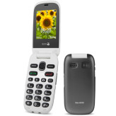 Doro PhoneEasy 6030 + Cradle Grey/White