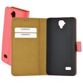 Mobiparts Premium Wallet Case Huawei Y5 Peach Pink