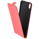 Mobiparts Premium Flip Case Huawei Y6 Peach Pink