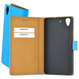 Mobiparts Premium Wallet Case Huawei Y6 Light Blue