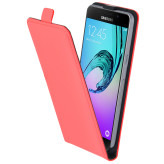 Mobiparts Premium Flip Case Samsung Galaxy A5 (2016) Peach Pink