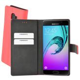 Mobiparts Premium Wallet Case Samsung Galaxy A5 (2016) Peach Pink