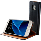 Mobiparts Luxury Book Case Samsung Galaxy S7 Classic Black