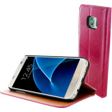 Mobiparts Luxury Book Case Samsung Galaxy S7 Ruby Pink