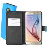 Mobiparts Premium Wallet Case Samsung Galaxy S6 Light Blue