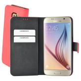 Mobiparts Premium Wallet Case Samsung Galaxy S6 Peach Pink