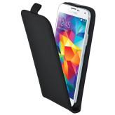Mobiparts Premium Flip Case Samsung Galaxy S5 / S5+ / S5 Neo Black
