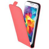 Mobiparts Premium Flip Case Samsung Galaxy S5 / S5+ / S5 Neo Peach Pink