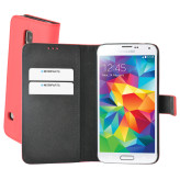 Mobiparts Premium Wallet Case Samsung Galaxy S5 / S5+ Peach Pink