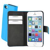 Mobiparts Premium Wallet Case Apple iPhone 5/5S/SE Light Blue