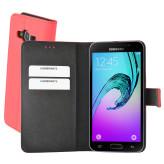 Mobiparts Premium Wallet Case Samsung Galaxy J3 (2016) Peach Pink