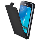 Mobiparts Premium Flip Case Samsung Galaxy J1 (2016) Black