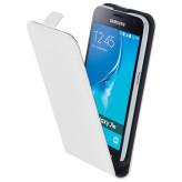 Mobiparts Premium Flip Case Samsung Galaxy J1 (2016) White