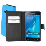 Mobiparts Premium Wallet Case Samsung Galaxy J1 (2016) Light Blue