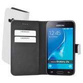 Mobiparts Premium Wallet Case Samsung Galaxy J1 (2016) White