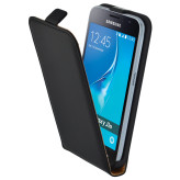 Mobiparts Essential Flip Case Samsung Galaxy J1 (2016) Black