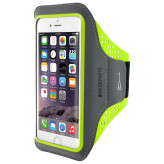 Mobiparts Comfort Fit Sport Armband Apple iPhone 6/6S Neon Green