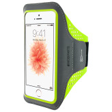 Mobiparts Comfort Fit Sport Armband Apple iPhone 5/5S/SE Neon Green