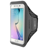 Mobiparts Comfort Fit Sport Armband Samsung Galaxy S6 Edge Black