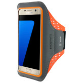 Mobiparts Comfort Fit Sport Armband Samsung Galaxy S7 Neon Orange