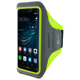 Mobiparts Comfort Fit Sport Armband Huawei P9 Neon Green