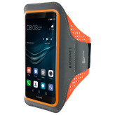 Mobiparts Comfort Fit Sport Armband Huawei P9 Neon Orange