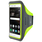 Mobiparts Comfort Fit Sport Armband Huawei P9 Lite Neon Green