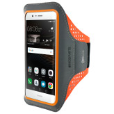 Mobiparts Comfort Fit Sport Armband Huawei P9 Lite Neon Orange