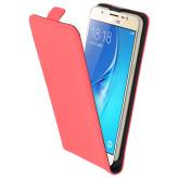 Mobiparts Premium Flip Case Samsung Galaxy J5 (2016) Peach Pink