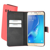 Mobiparts Premium Wallet Case Samsung Galaxy J5 (2016) Peach Pink