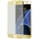 Mobiparts Edge to Edge Glass Samsung Galaxy S7 Gold