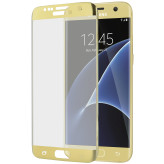 Mobiparts Curved Glass Samsung Galaxy S7 Edge Gold