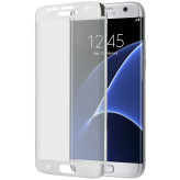 Mobiparts Curved Glass Samsung Galaxy S7 Edge Silver